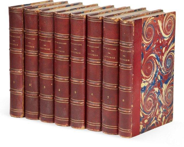 Letters of Mme. De Sevigne, Set of 8
