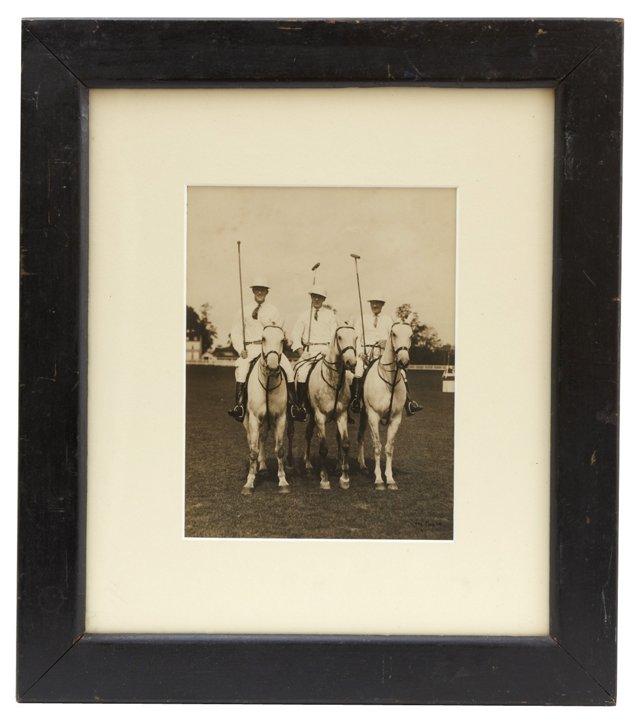 Photo of Three Polo Players, Carl Klein