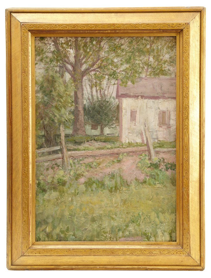 Plein Air Impressionist Painting