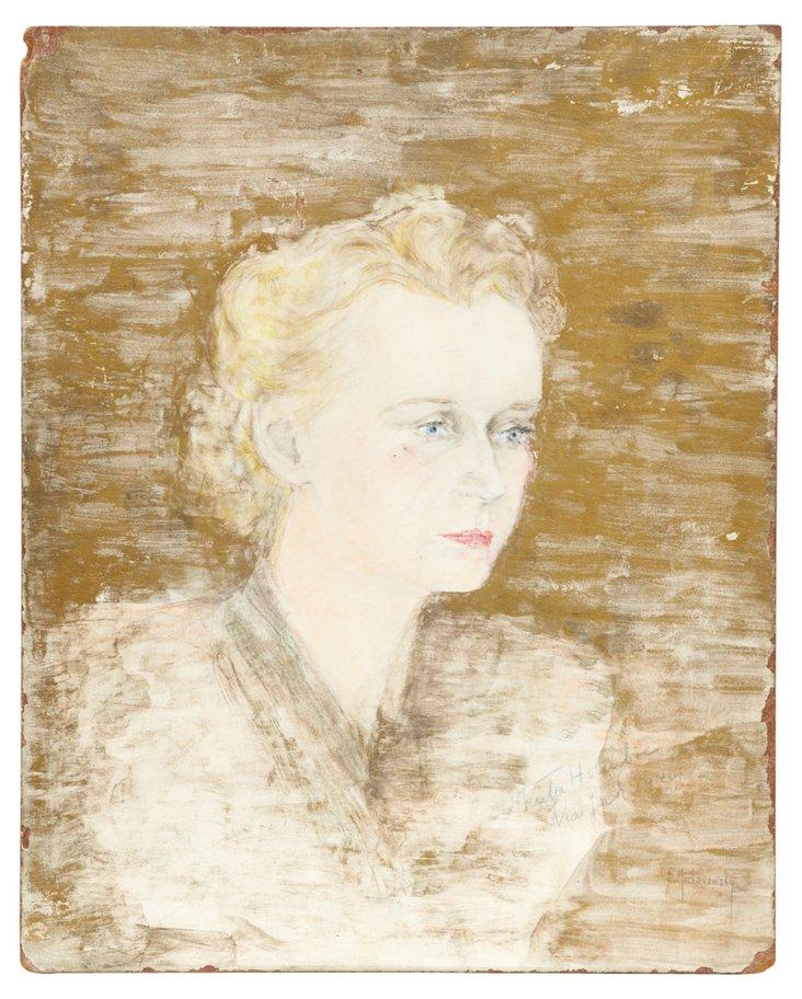 Outsider Art, Female Portrait II