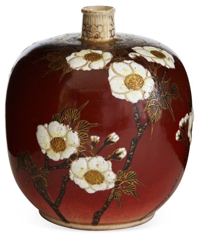 Chinese Ceramic Floral Vase