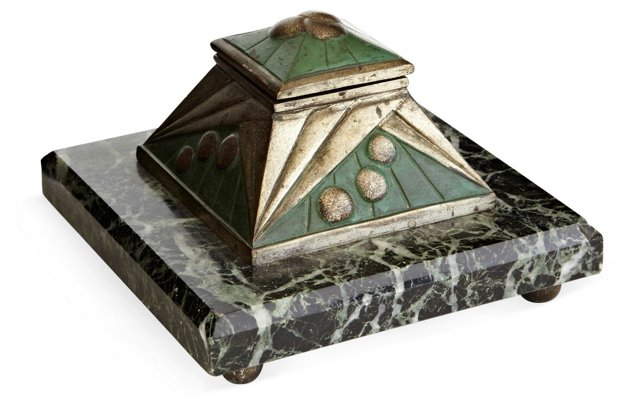 French Art Deco Inkwell
