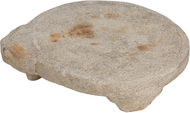 Chapatti  Stone Footed Plate