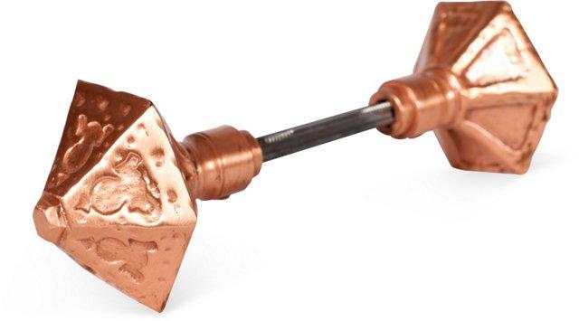 Double-Sided Copper Cast Door Knobs