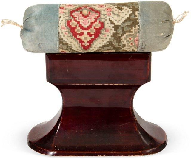 Brocade Japanese Headrest