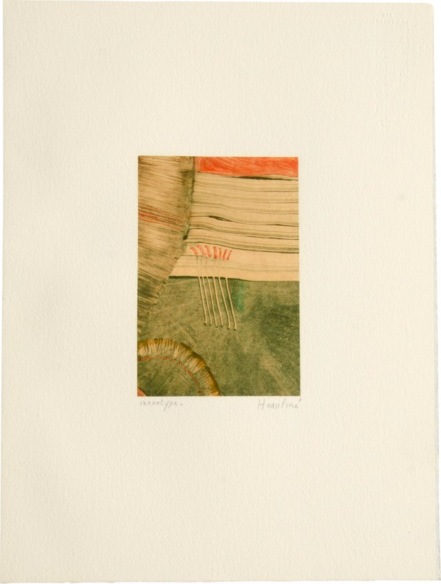 Monotype by Heaupine