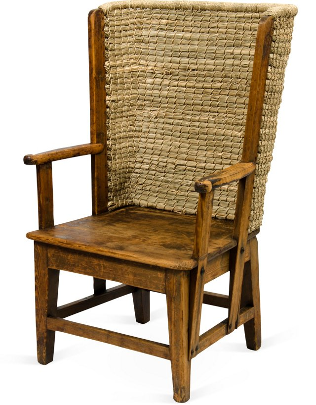 Orkney Island Chair, 1870