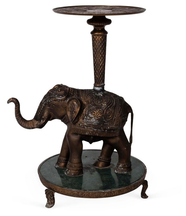 Victorian Elephant Side Table