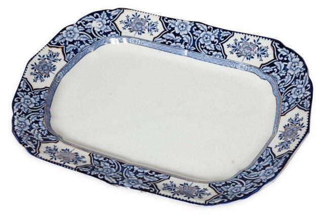 Khotan Porcelain Platter
