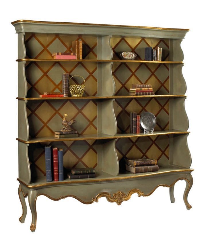 Oliver Open Bookcase