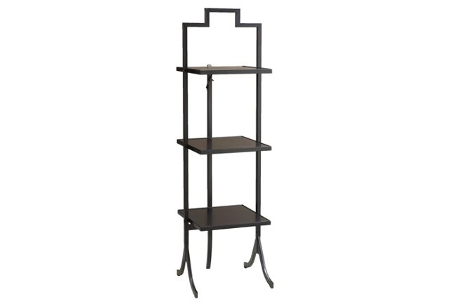 Small Tamsin Folding Shelf, Black