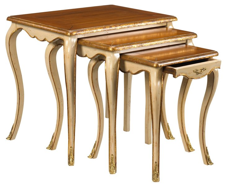Dampierre Nesting Tables, Set of 3