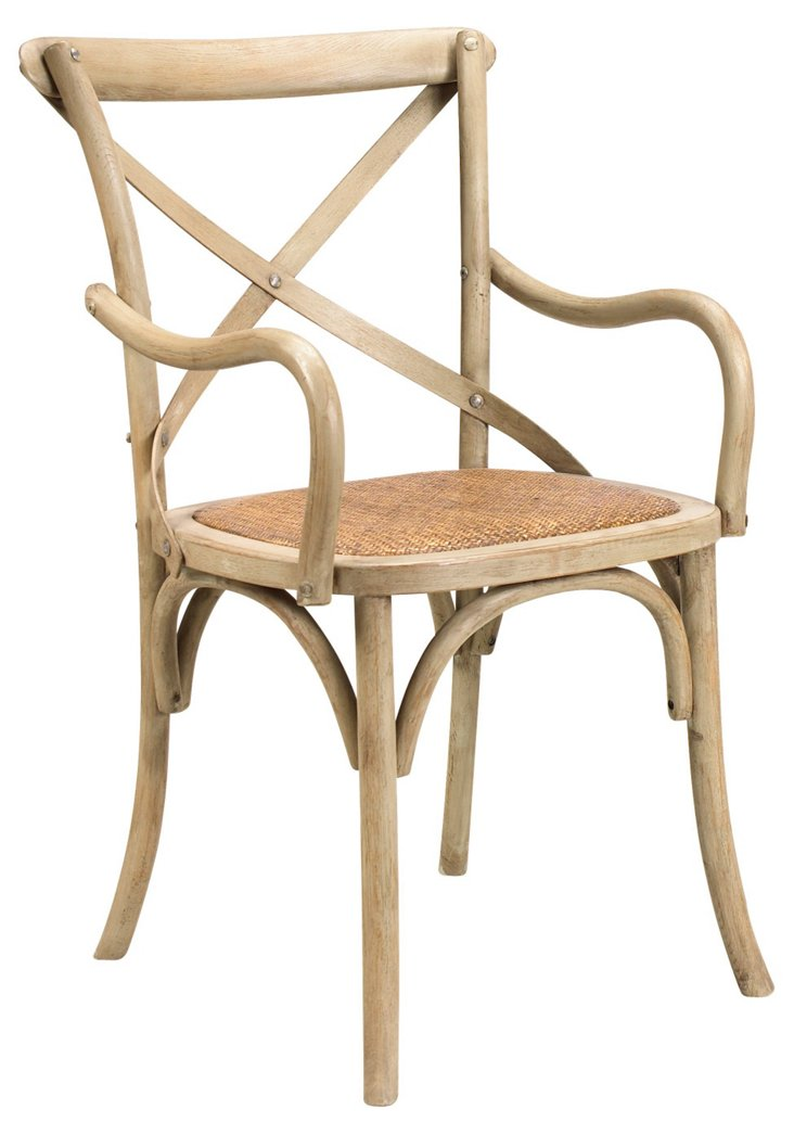 DNU, DISC Bosquet Armchair, Driftwood