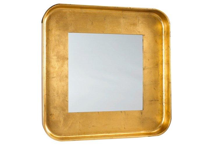 Nantes Mirror, Gold
