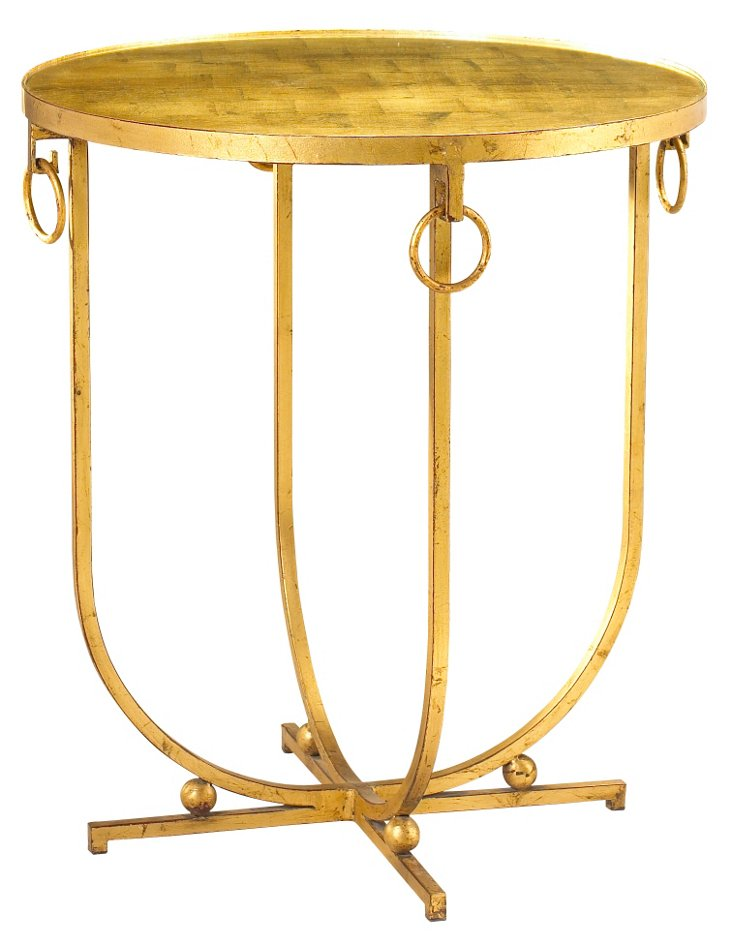 DNU, DISC Clairval Side Table, Gold