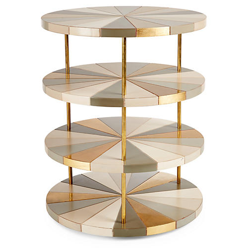 Poiroux 4-Tier Nightstand, Multi