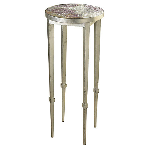 Roses Mosaic Side Table