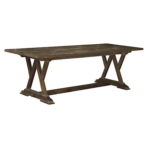"Cordoba 96"" Dining Table, Timberwood"