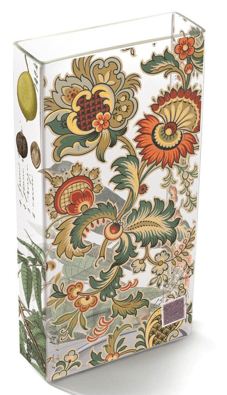 Floral Tiffany Vase