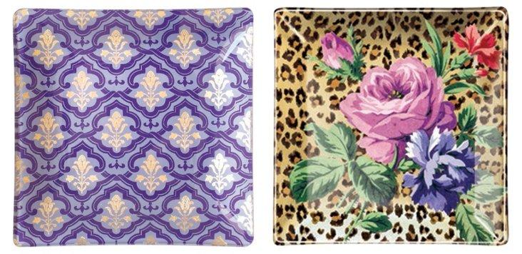 Leopard & Moyen Foil Trays
