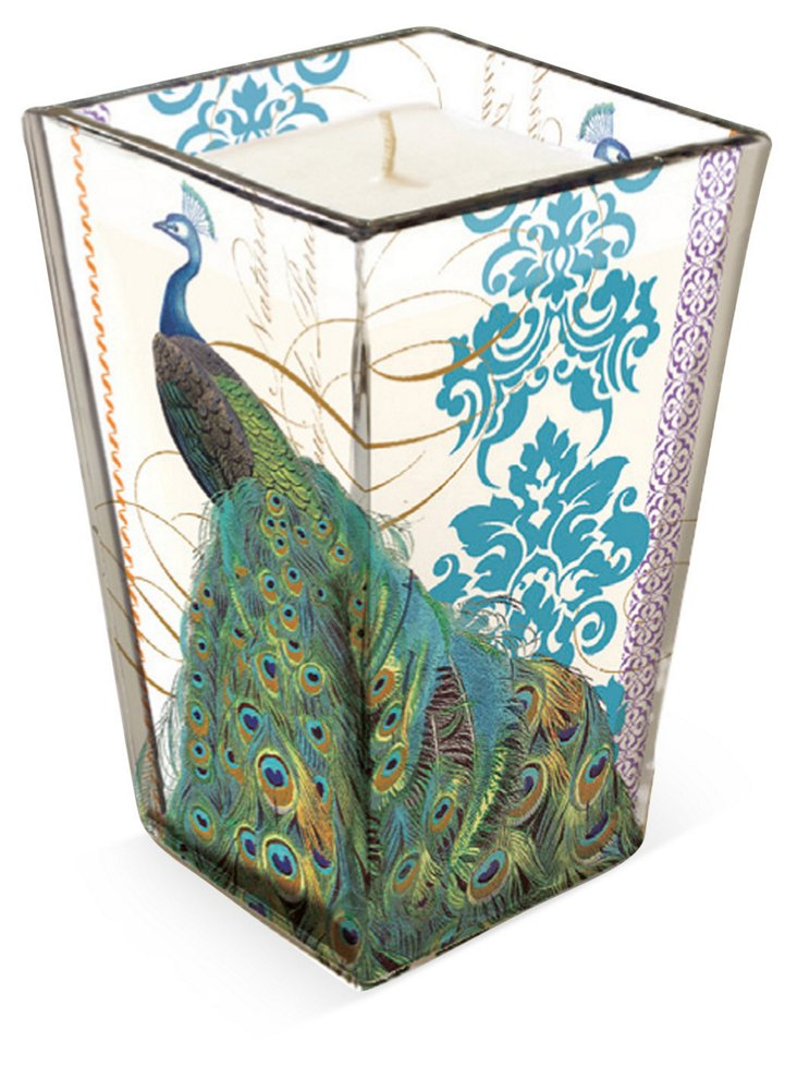 "5"" Peacock Madison Candle"