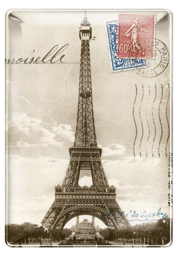 4x6 Eiffel Tower Tray, S/2