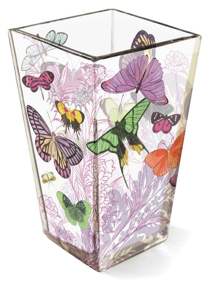 Lavender Leaf Shannon Vase