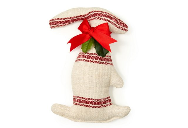 Brussels Holiday Bunny, Red