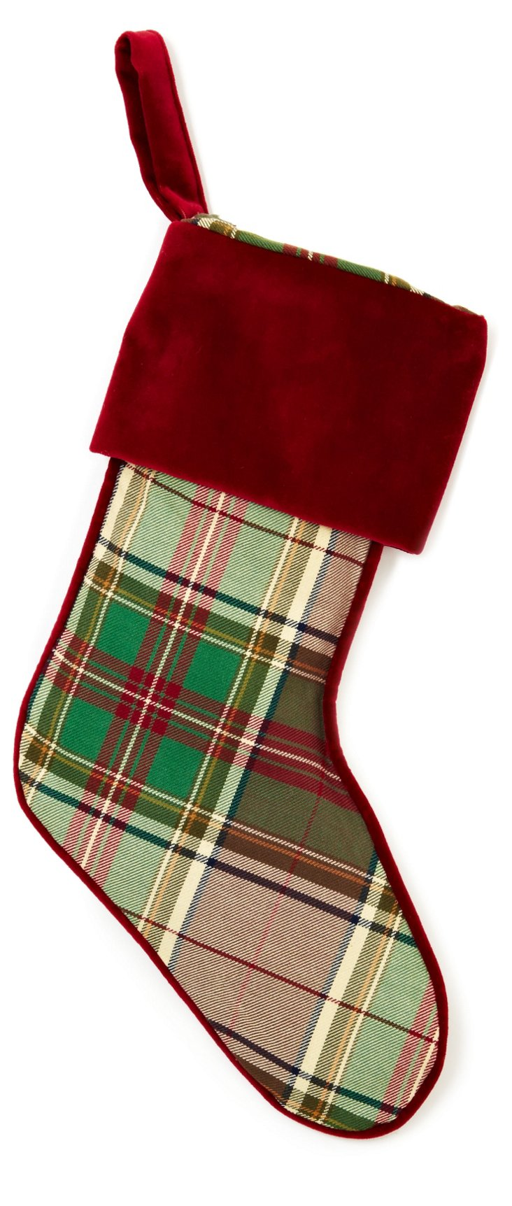Cambridge Plaid Stocking