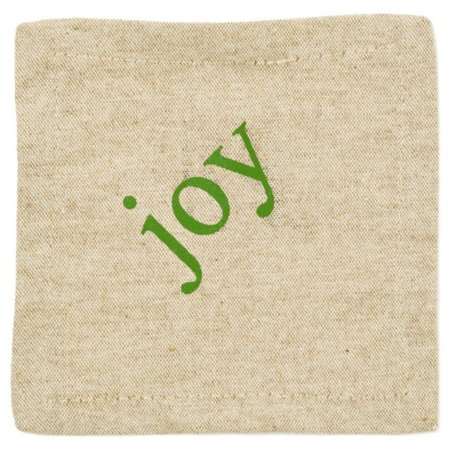 S/6 Joy Cocktail Napkins, Natural
