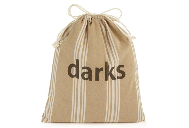 """Darks"" Drawstring Bag, Maxine"