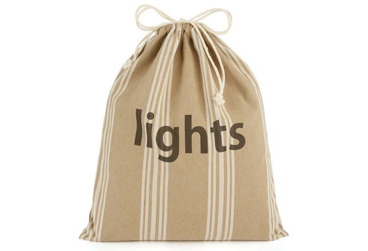 """Lights"" Drawstring Bag, XL Maxine"