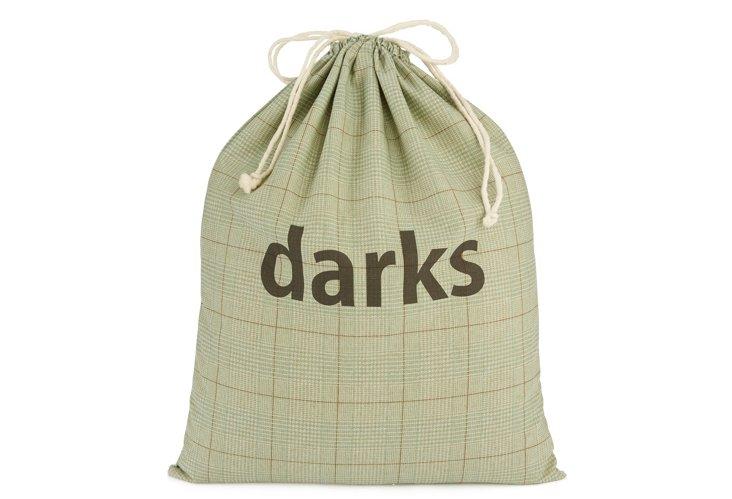 """XL Spa Tweed Drawstring """"Darks"""" Bag"""