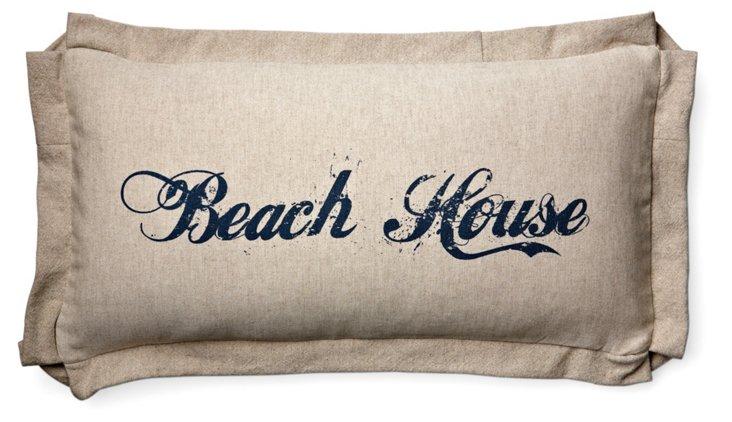 Beach House 10x20 Pillow, Natural