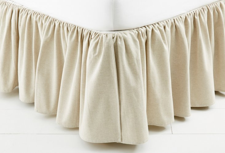 Linen Bed Skirt, Montford
