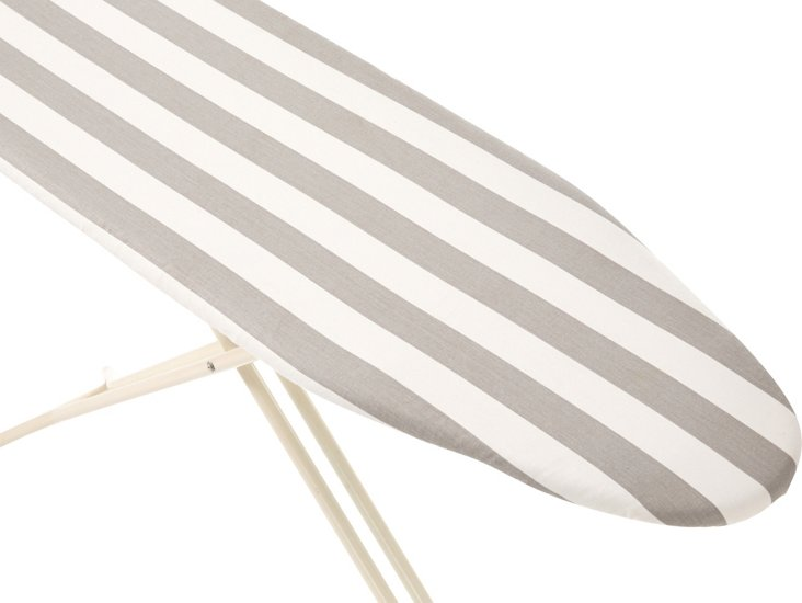 Ironing Board Cover, Gray/White Stripe