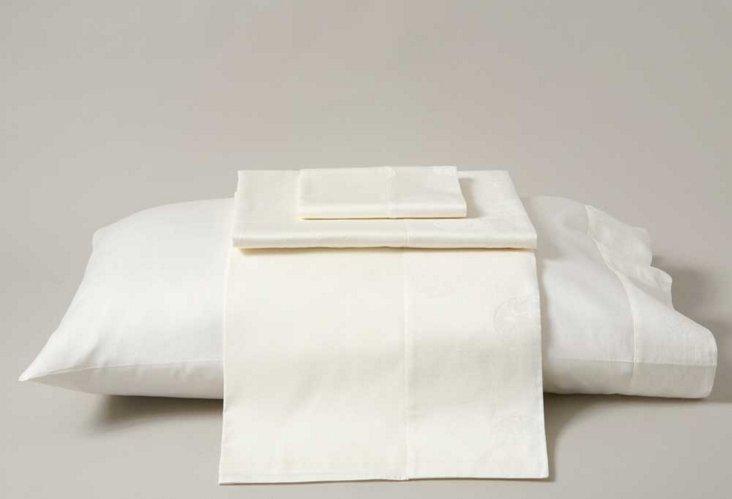 Frette Queen Sheet Set, Ivory