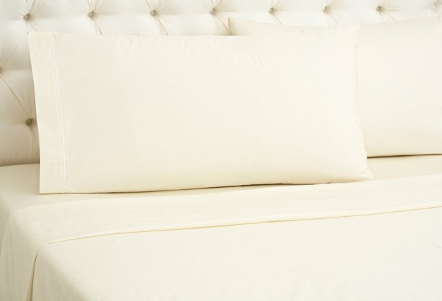 Bourdon Sheet Set, Ivory