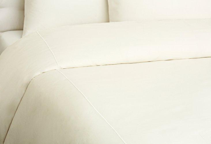 Bourdon Duvet Cover, Ivory