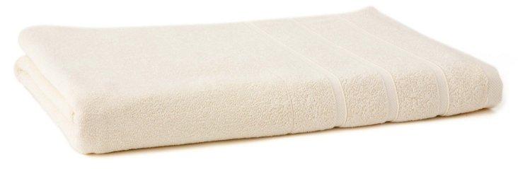Lanes Bath Sheet, Cream