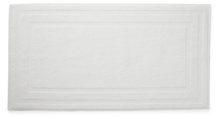 Lanes Bath Mat, White