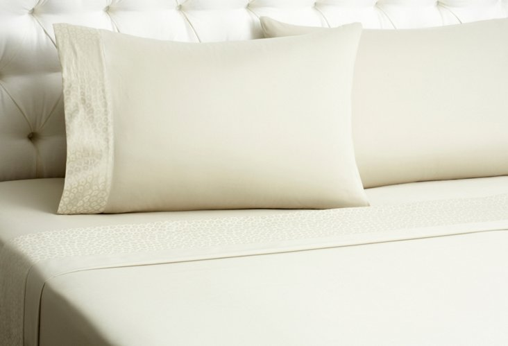 Sabaudia Fitted Bedset, Roccia Sand
