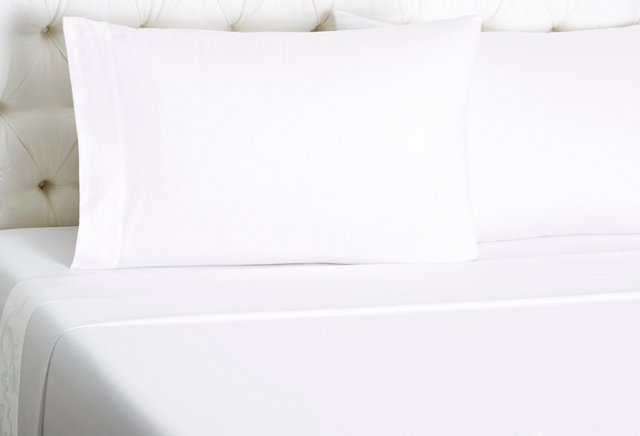 Qn Fiore Bedset, White