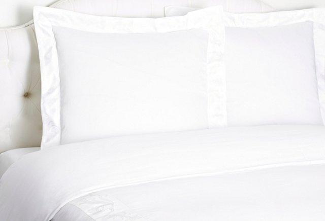 Fiore Duvet Set, White