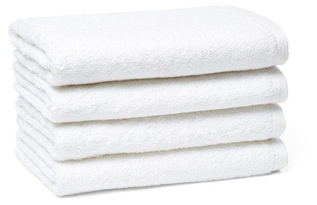 S/4 Nico Border Hand Towels