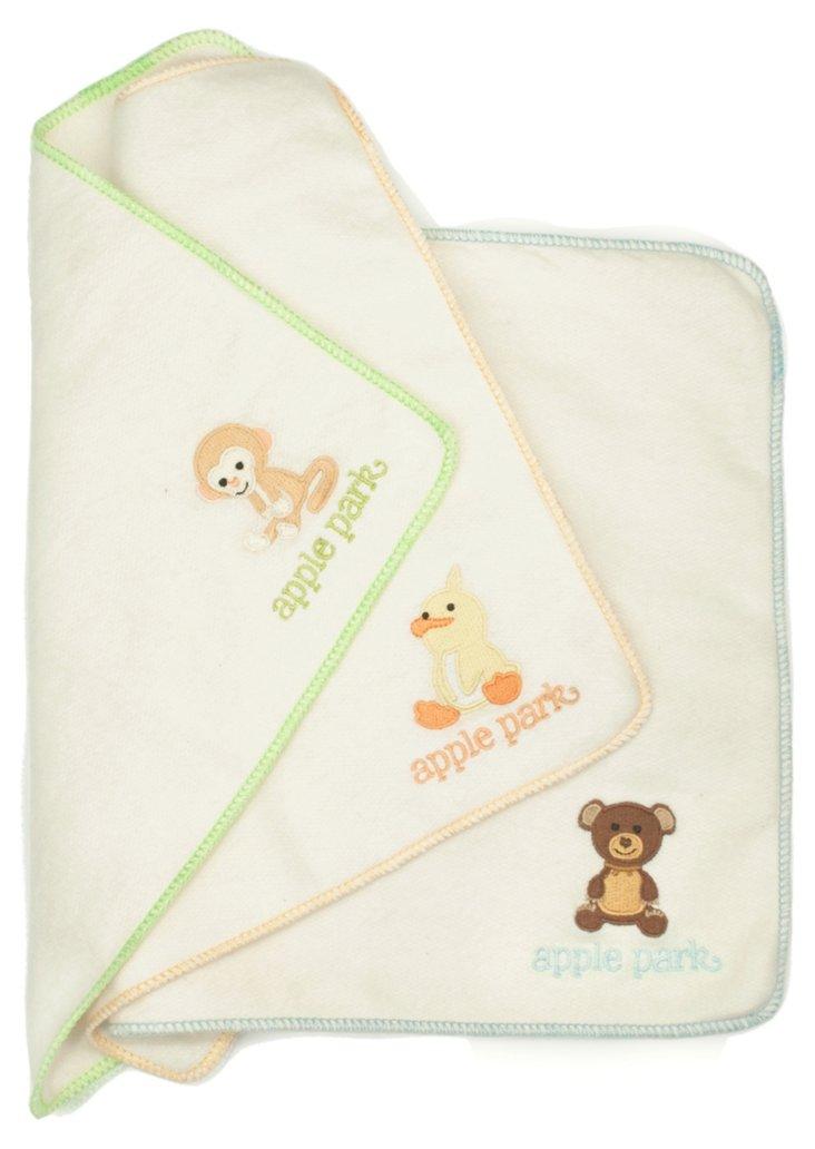 Monkey, Cubby, Ducky Baby Cloth Set