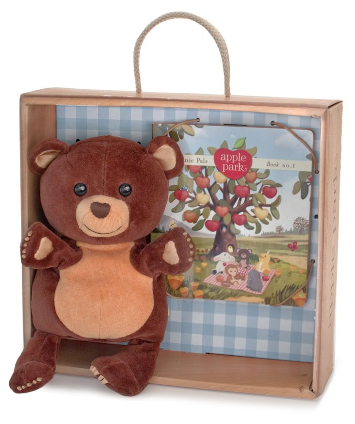 Cubby Hand Puppet Gift Crate