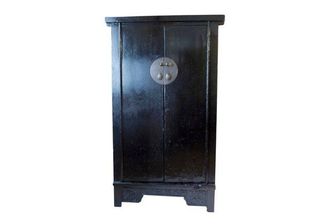 Olsen Painted Cabinet, Black
