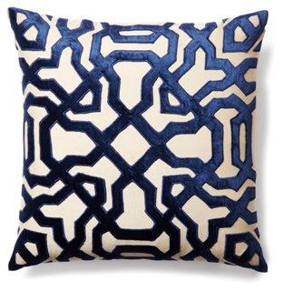 Blue & White Pillows Header Image