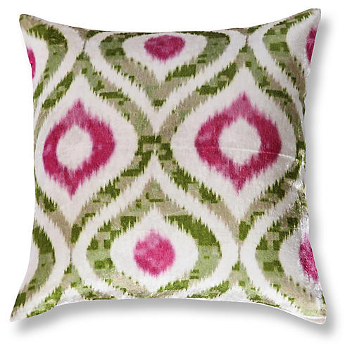 Erin 20x20 Linen Pillow, Multi